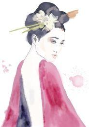 Geisha gaze