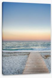 Jetty Stretched Canvas 193537661