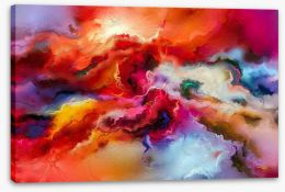 Abstract Stretched Canvas 198006191