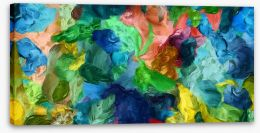 Abstract Stretched Canvas 207203331