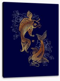 Chinese Art Stretched Canvas 207750435