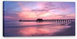 Jetty Stretched Canvas 209957293