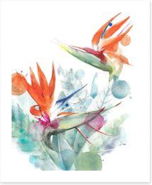 Floral Art Print 210195328