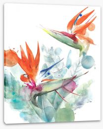 Floral Stretched Canvas 210195328