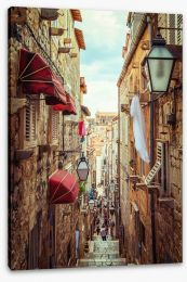 Village Stretched Canvas 212213738