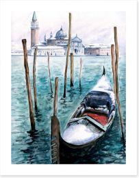 Gondola in Winter