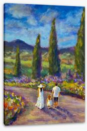 Impressionist Stretched Canvas 213789593