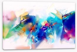 Abstract Stretched Canvas 214111349