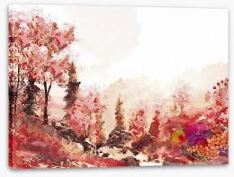 Autumn Stretched Canvas 216578191