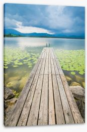 Jetty Stretched Canvas 216645723