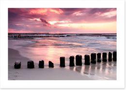 Coastal calm Art Print 22254087