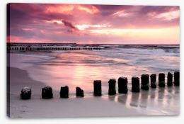 Coastal calm Stretched Canvas 22254087