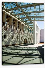 Parliament House shadows