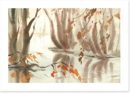 Autumn Art Print 228158174