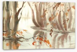 Autumn Stretched Canvas 228158174