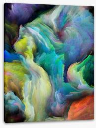 Abstract Stretched Canvas 228890746