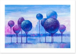 Winter Art Print 233159183