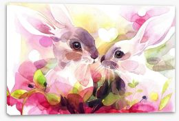 Animal Friends Stretched Canvas 240246119