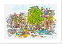 Home Office Art Print 255171977