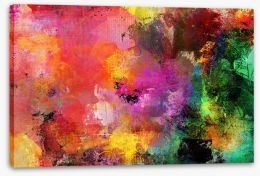 Abstract Stretched Canvas 255388221