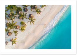 Beaches Art Print 255835152