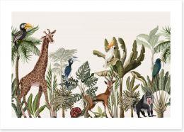 Call of the wild Art Print 257381341