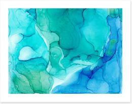Abstract Art Print 257686677