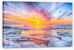 Sunsets / Rises Stretched Canvas 259576930
