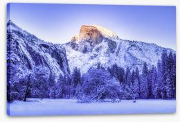 Winter Stretched Canvas 266194552