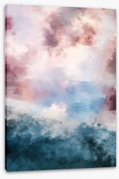 Abstract Stretched Canvas 266843374