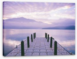 Jetty Stretched Canvas 275083940