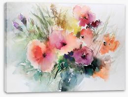 Watercolour Stretched Canvas 277386304