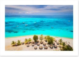 Beaches Art Print 286308842