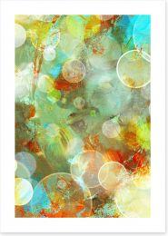 Rings of light Art Print 34279031