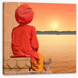 Meditation Stretched Canvas 34898273