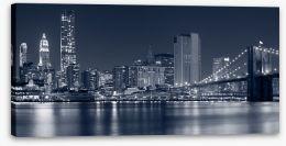 Manhattan at night, NYC