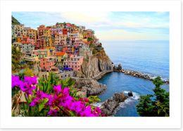 Stunning Cinque Terre coast, Italy