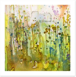 Nature splash Art Print 43745035