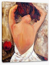 Beauty from behind Stretched Canvas 44218815