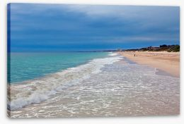 Beautiful Scarborough beach Stretched Canvas 44277632