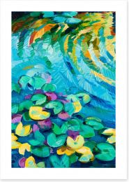Lily pond Art Print 44331514