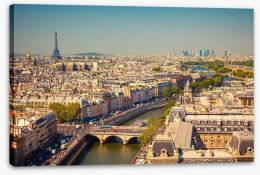 The city of Paris Stretched Canvas 44929117