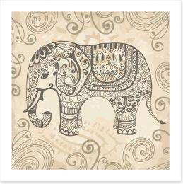 Elephant lace