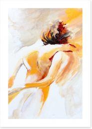 The embrace Art Print 46510995