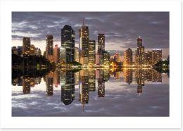 Brisbane city reflections