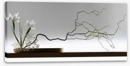 Ikebana Stretched Canvas 46823309