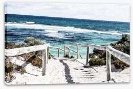 Rottnest Island beach Stretched Canvas 48186873