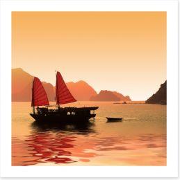 The bay of Halong, Vietnam