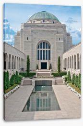 Peace at the war memorial