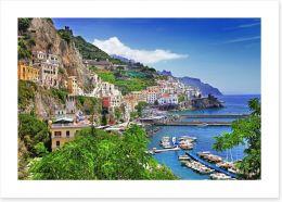 The Amalfi coast, Italy